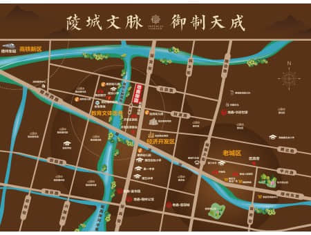 地鑫·御园交通图